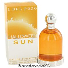 Halloween Sun Perfume by Jesus Del Pozo 3.4 oz / 100 ml EDT Spray NEW IN BOX #JesusDelPozo