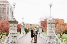 Beacon Hill & Boston Public Garden Engagement Session | Annmarie Swift | Boston & New England Wedding Photographer