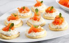 Tartine ricotta, salmone e caviale di limone, ricetta