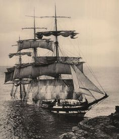 Sinking: A British built iron sailing barque, The Cromdale, ran into Lizard Point, the most southerly point of British mainland, in thick fog. The three-masted ship was on a voyage from Taltal, Chile to Fowey, Cornwall with a cargo of nitrates. There were no casualties but within a week the ship had been broken up completely by the sea.:
