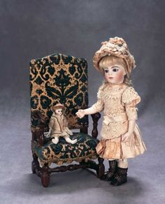 The Great Man's Doll: 15 Very Beautiful French Bisque Bebe,Size 3,by Leon Casimir Bru