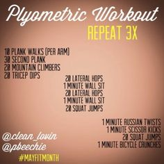 plyometric workout