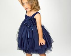Light Gray Baby Tulle Dress with Empire Waist and от AylinkaShop