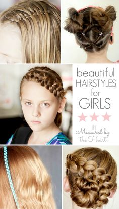 Beautiful hairstyles for girls - u-createcrafts.com