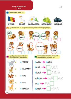 Clasa pregatitoare : Comunicare in limba romana - Clasa Pregatitoare Math For Kids, Kids Education, Preschool, Projects To Try, Activities, Learning, Food, Therapy, Preschools