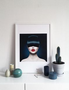 Wera - Red lips poster. Available at www.theposterclub.com