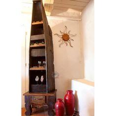 Meuble de bar pirogue mexicaine, mobilier mexicain