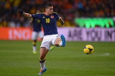 14. James Rodriguez, Colombia
