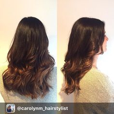 Some #balayage #highlights for @kbaum29 getting her wedding ready! I used #olaplex of course and her hair still feels amazing! @olaplex @joico @love_kevin_murphy #hairbycarolynm #vancouverhairsalon #vancouverhairstylist #ombre #sombre @carolynm_hairstylist