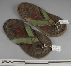 sandals. Pitt-Rivers Museum, Oxford.