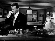 """Montgomery Clift y Elizabeth Taylor en """"Un lugar en el Sol"""", 1951"""