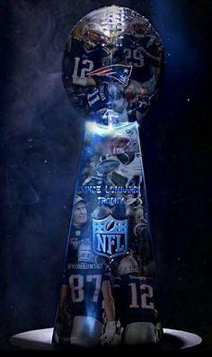 New England Patriots Lombardi Trophy