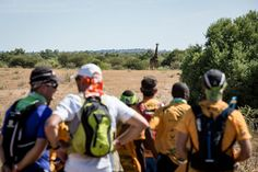 The Mapungubwe Transfrontier Wildrun - a trail run through Big Five country!
