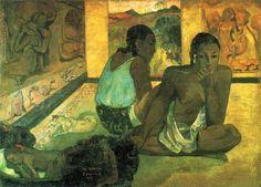 Te rerioa (1897) de Paul Gauguin