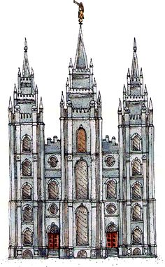 Symbolism for the exterior of the LDS Salt Lake City Temple- Great FHE idea Slc Temple, Lds Church, Church Ideas, Salt Lake Temple, Church Activities, Sunday Activities, Lds Temples, Mormon Temples, Family Home Evening