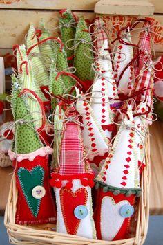 Christmas Houses Fabric