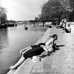 John Sadovy / Paris - Les Quais, Spring 1956