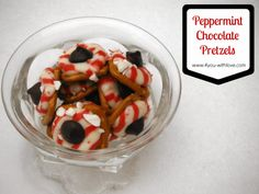 4 You With Love: Peppermint, Chocolate Pretzel Candies