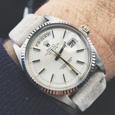 Vintage Rolex Oyster Perpetual Day/Date.