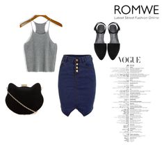 """Romwe"" by ermina-camdzic ❤ liked on Polyvore featuring New Look and romwe"