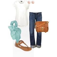 Comfy Casual, created by corinnep on Polyvore