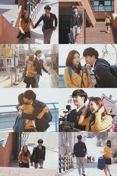 Why i always smile if i see bbyu Sungjae And Joy, Sungjae Btob, Wgm Couples, Cute Couples, Who Are You School 2015, Joy Rv, Eunwoo Astro, Kim Ji Won, A Love So Beautiful