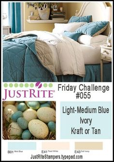 JustRite Friday Challenge 055 - Color - You have til Wednesday May 25th at 8 pm CST to play along in the JustRite Challenge!