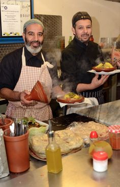 A recent award winner of the  BBC Food and Farming Awards, the Best Takeaway or Streetfood category was won by Mohammed and Ibrahim Siteri. The Siteris cook and serve their award-winning Moroccan soups at their stall in Golborne Road from Monday to Saturday except Thursdays, and source all their ingredients locally from Golborne Road's fishmonger, butcher and specialist Moroccan stores.
