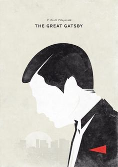 The Great Gatsby   Book Jacket. Design: Hannes Beer.