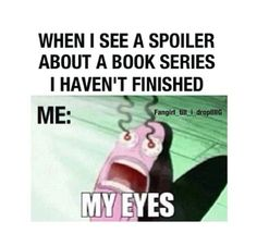 Every single time I get on Pinterest I see a spoiler about a TV show I am watching!