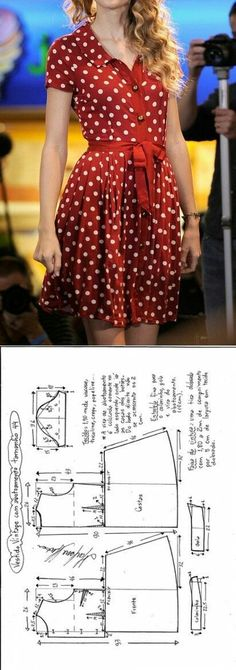 Super Sewing Clothes Diy Dress How To Make Ideas Sewing Dress, Dress Sewing Patterns, Diy Dress, Sewing Clothes, Clothing Patterns, Pattern Sewing, Wrap Dress, Diy Fashion, Ideias Fashion