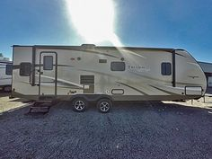 """CHARACTER OOZES FROM THIS TRAVEL TRAILER  2017 Coachmen Freedom Express 279RLDS Lightweight and affordable, this 35' 5"""" long Coachmen RV makes it possible for everyone to live their dream of outdoor adventure and nights spend under the stars. With a dry weight of 6,847 lbs., you don't need a big rig to pull this large camper. See for yourself just how accommodating RVing can be! Give our Freedom Express expert Jake Richey a call 517-819-5445 for pricing and more information."""