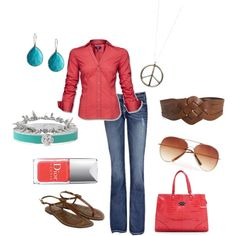 Spring Outfit, created by shelleylanpher on Polyvore
