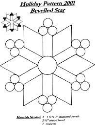 stained glass snowflake patterns - Google Search