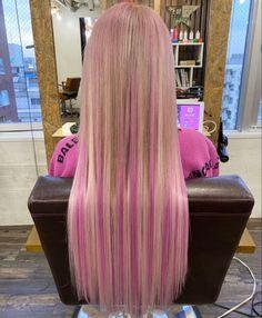 Hair Color Streaks, Hair Color And Cut, Hair Dye Colors, Baddie Hairstyles, Pretty Hairstyles, Hair Inspo, Hair Inspiration, Coloured Hair, Dye My Hair