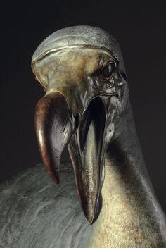 Nick Bibby - Dodo (Raphus cucullatus, Linnaeus 1758) http://www.extinct-species.com/ http://agathaumas.blogspot.it/2013/04/nick-bibby-dodo-di-bronzo.html