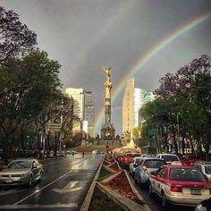 Avenida Reforma en Mexico D.F.