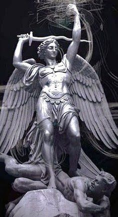 st michael black and white - Google Search