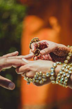 Neetal + Saumil: An Intimate Indian Wedding - The Details - Weddingstar Blog