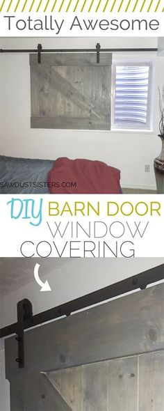 This barn door window covering is a great alternative to blinds or curtains. It … This barn door window covering is a great alternative to blinds or curtains. It is a show stopper, especially in a basement bedroom where light… Continue reading → Basement Window Coverings, Door Window Covering, Barn Door Window, Basement Windows, Bathroom Windows, Diy Barn Door, Basement Bathroom, Basement Apartment, Basement Window Curtains