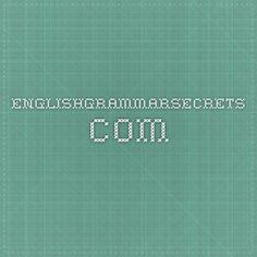 englishgrammarsecrets.com