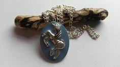Necklace Blue Unicorn  £8.00