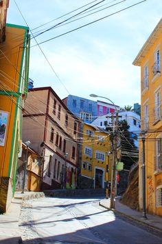 Calles, Valparaíso Chile