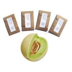 Honeydew Scented Sachets - Scent of the familiar juicy, pale green fleshed melon. #Honeydew #Melon #Sachets #pebblecreekcandles, $12.00