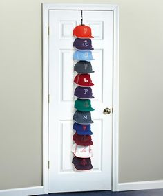 Look at this Large Over-the-Door Hanging Hat Rack on #zulily today!