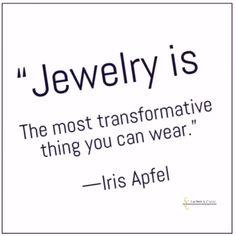 #losaltos #fashionquotes #irisapfel #jewelry #styleicons
