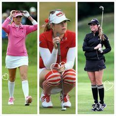 Gals Who Golf | Modern Women's Golf Clothing + Product Review: LPGA LOOKS WE LOVE?  PAULA CREAMER'S SOCKS!