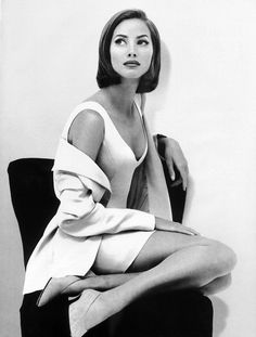 Christy Turlington for Vogue 1992