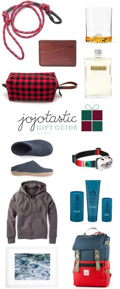 the ultimate gift guide for men! whether you're shopping for your boyfriend, husband, brother, or father, these gifts are perfect for the holidays. get the full shopping resources and links on jojotastic.com