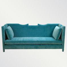 turquoise sofa, Lola Sofa, Shine by S. Art Deco Furniture, Sofa Furniture, Furniture Design, Colorful Furniture, Modern Furniture, Turquoise Sofa, Purple Sofa, Teal Couch, Green Sofa
